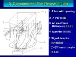 5 compartment fire research lab2