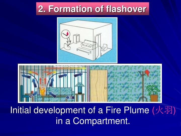 2. Formation of flashover