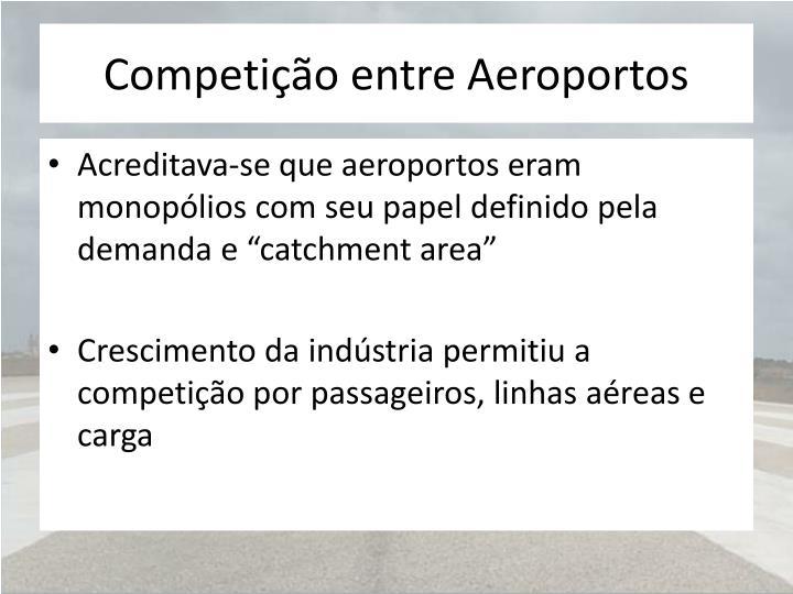 Competição entre Aeroportos