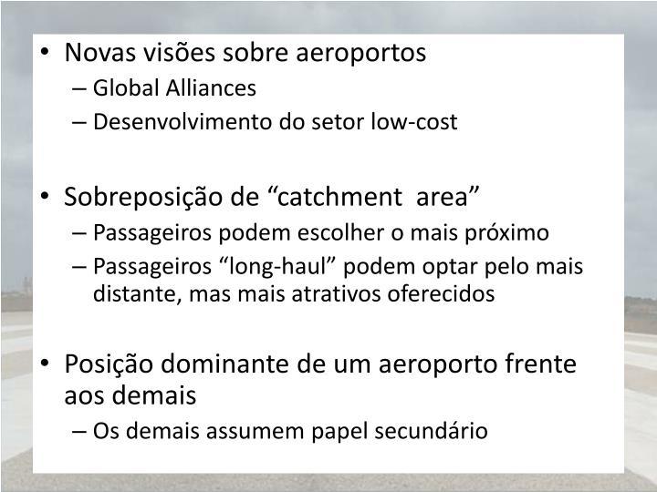 Novas visões sobre aeroportos