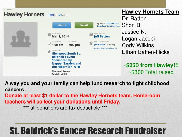 Hawley Hornets Team