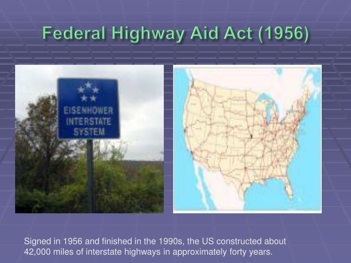Federal Highway Aid Act (1956)
