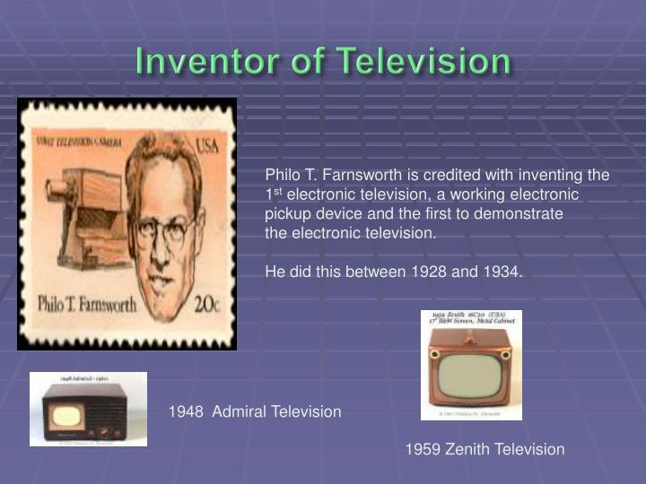 Inventor of Television