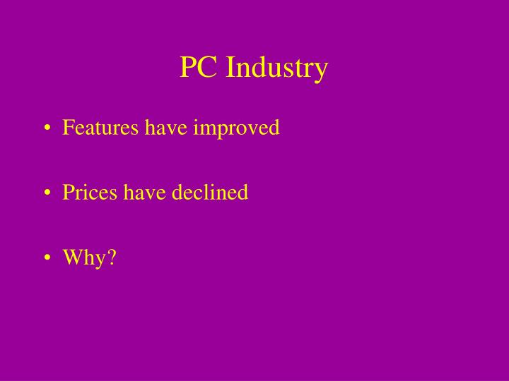 PC Industry
