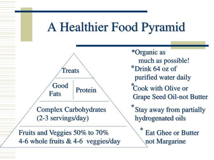 A Healthier Food Pyramid