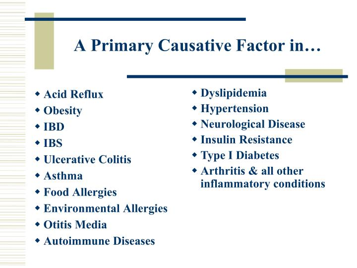 A Primary Causative Factor in…