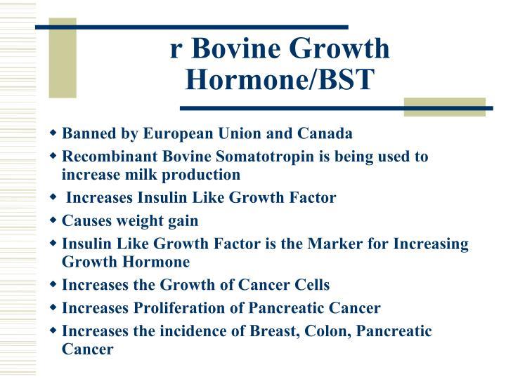 r Bovine Growth Hormone/BST