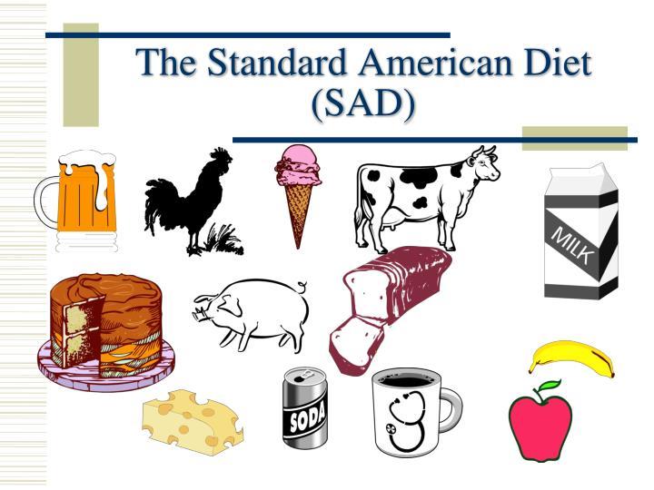 The Standard American Diet (SAD)