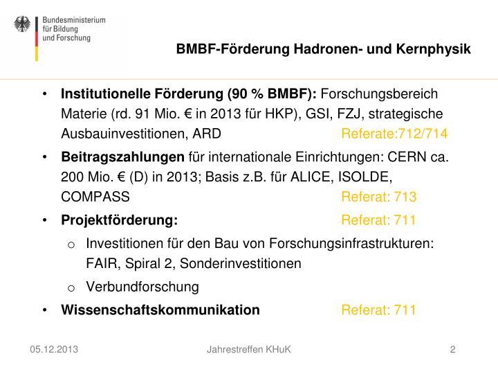 BMBF-Förderung