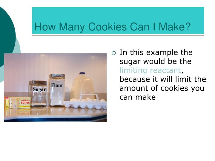 How Many Cookies Can I Make?