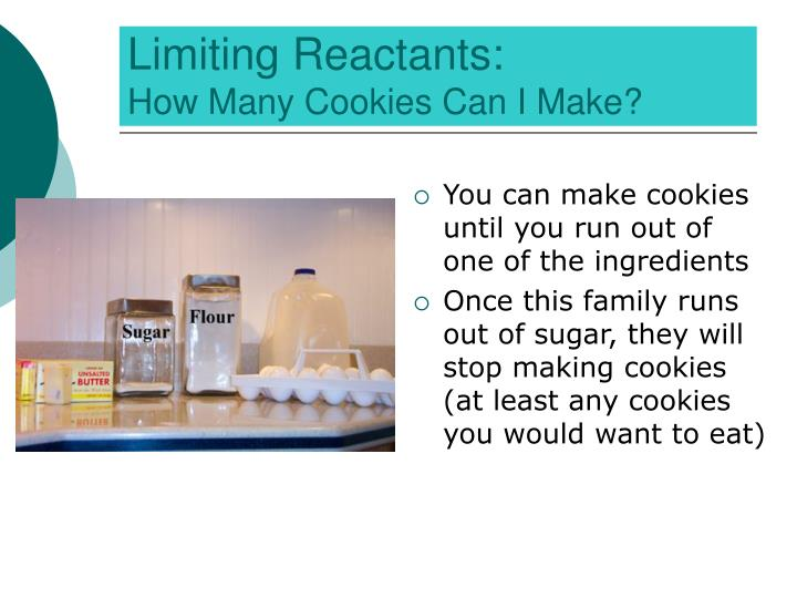 Limiting Reactants: