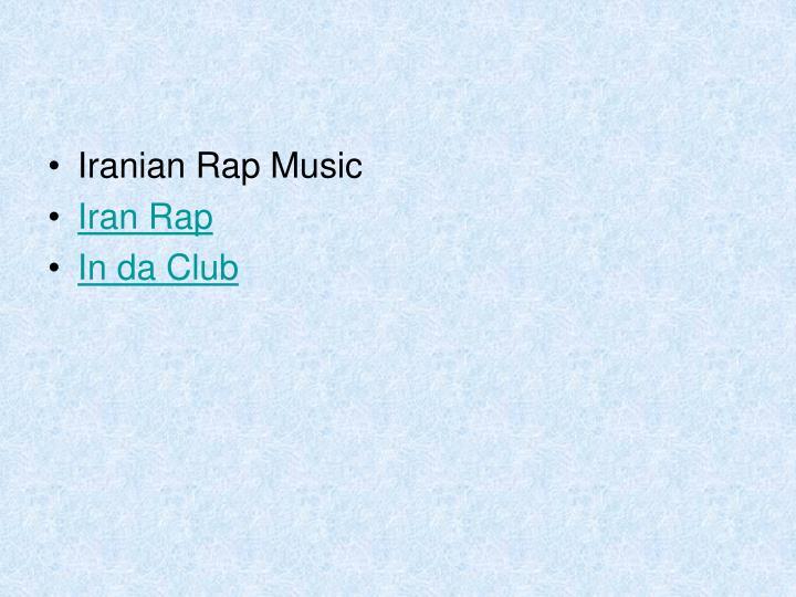 Iranian Rap Music