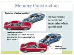 memory construction1
