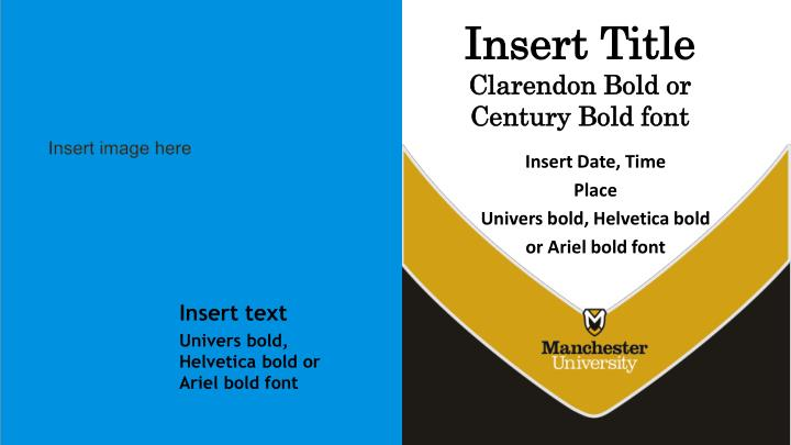 Ppt Insert Title Clarendon Bold Or Century Bold Font