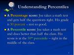 understanding percentiles