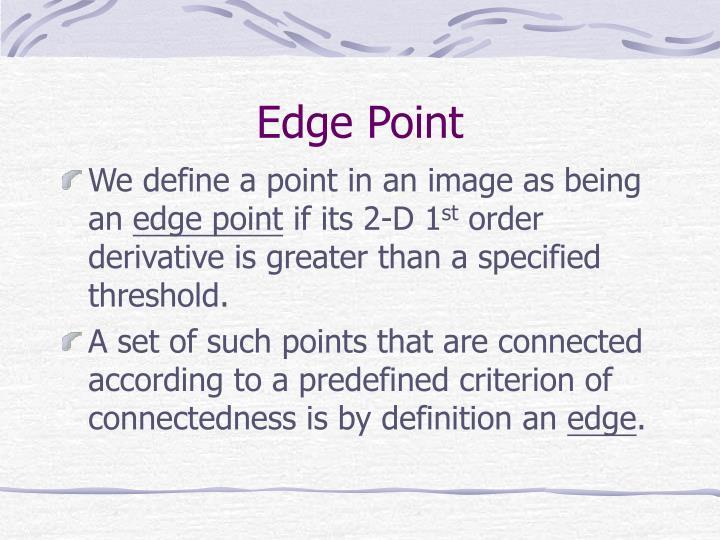 Edge Point