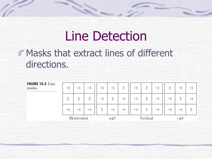 Line Detection