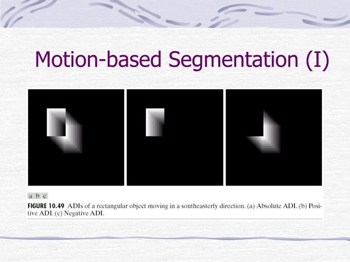 Motion-based Segmentation (I)