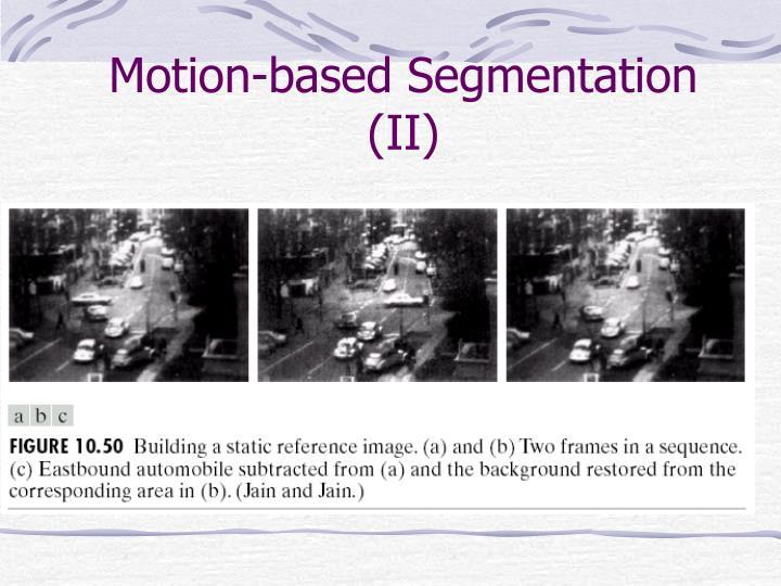Motion-based Segmentation (II)