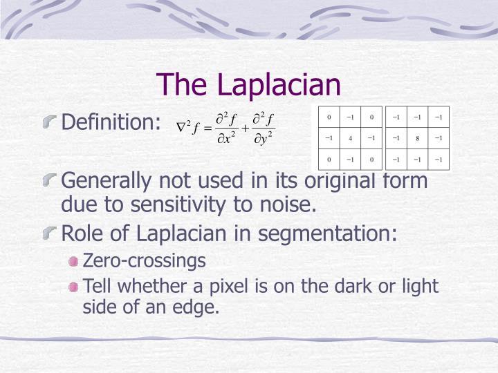 The Laplacian