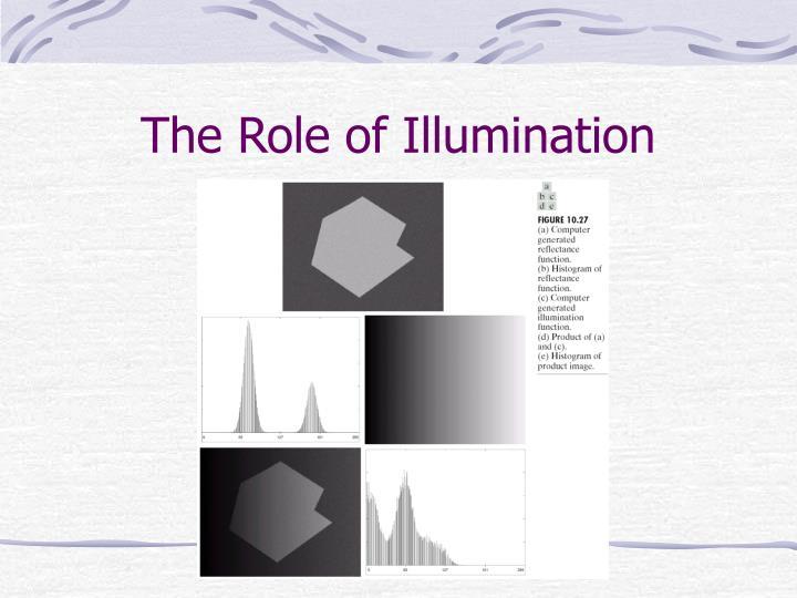 The Role of Illumination