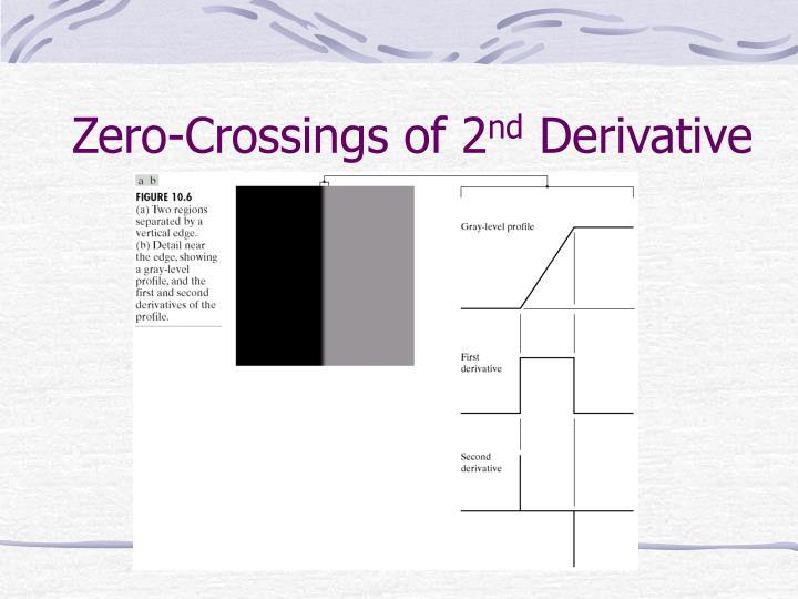 Zero-Crossings of 2