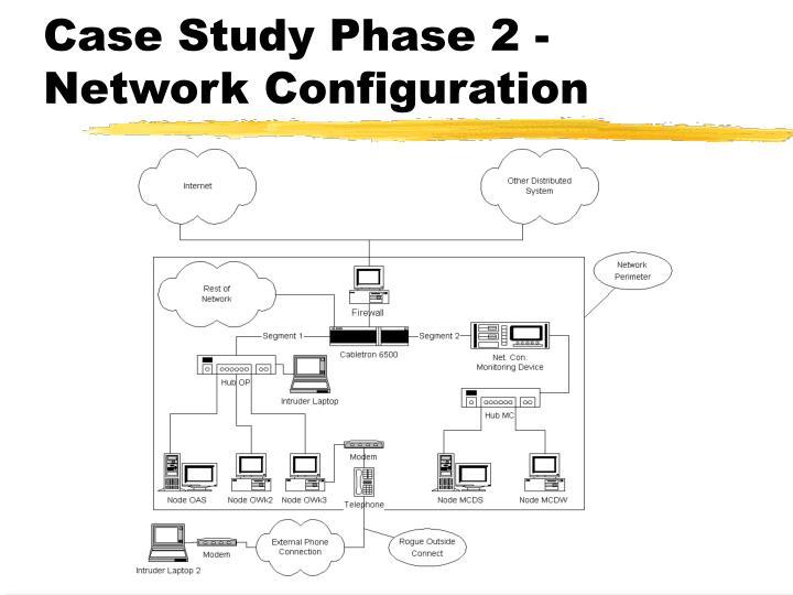 Case Study Phase 2 - Network Configuration