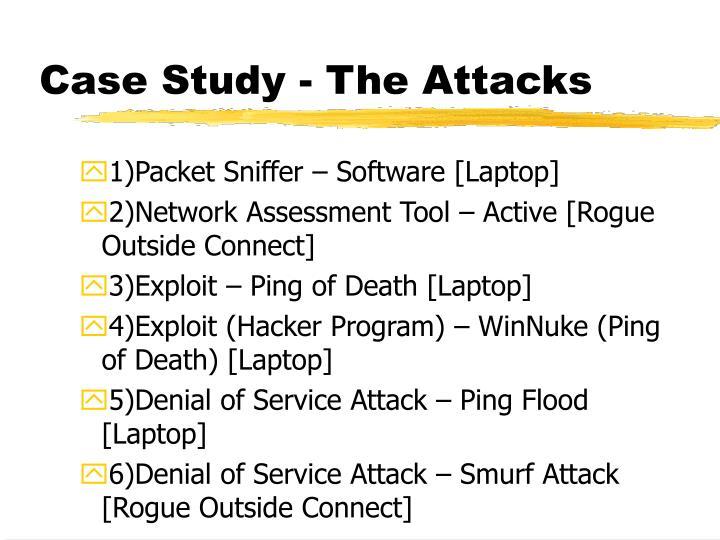 Case Study - The Attacks