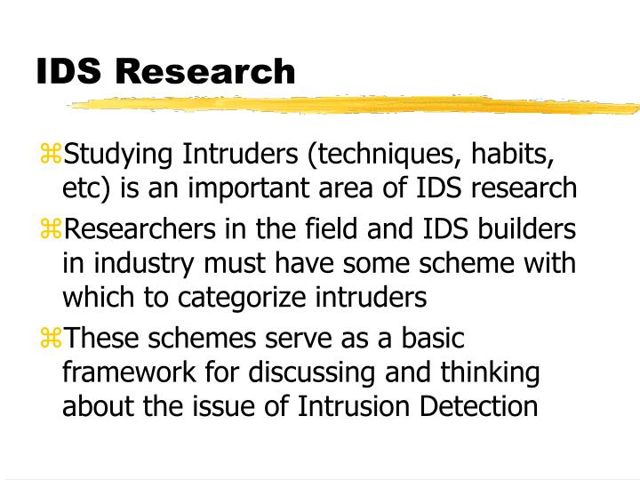 IDS Research