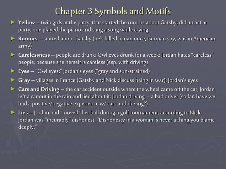 Chapter 3 Symbols and Motifs