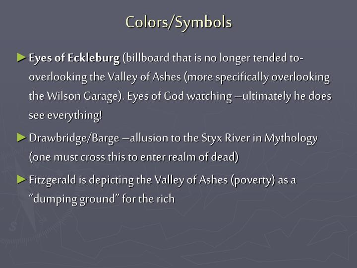 Colors/Symbols