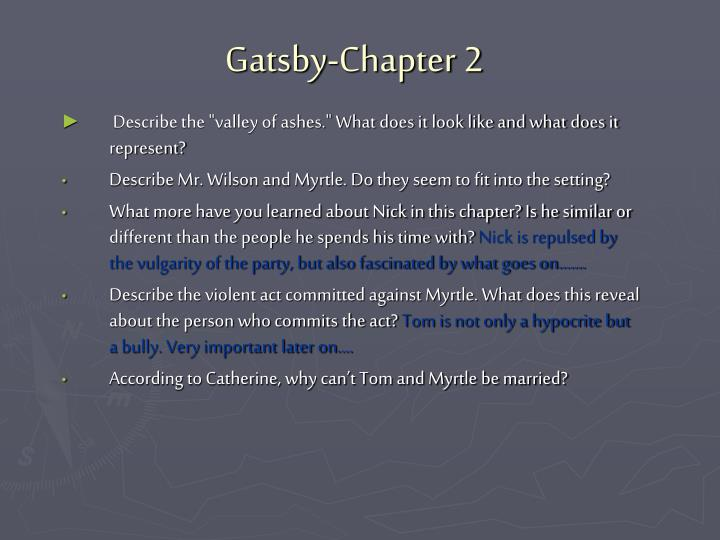 Gatsby chapter 2