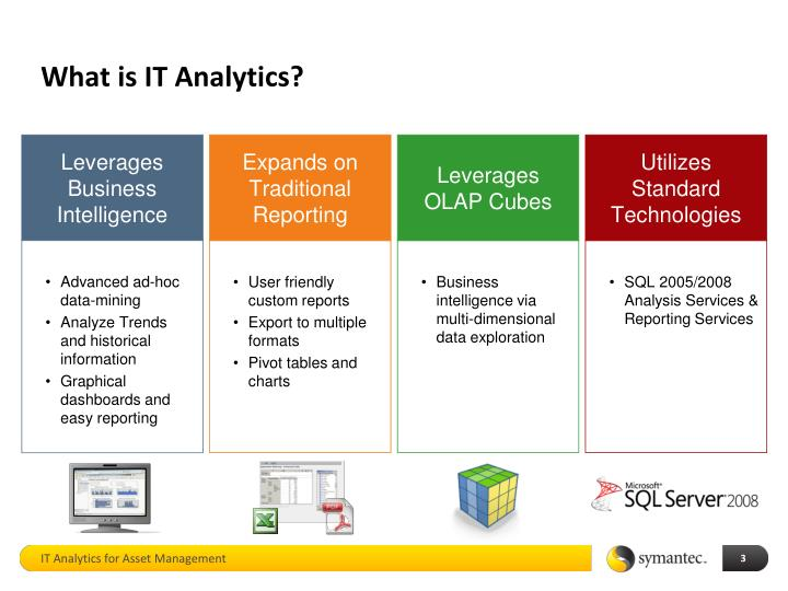 What is IT Analytics?
