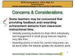 concerns considerations1
