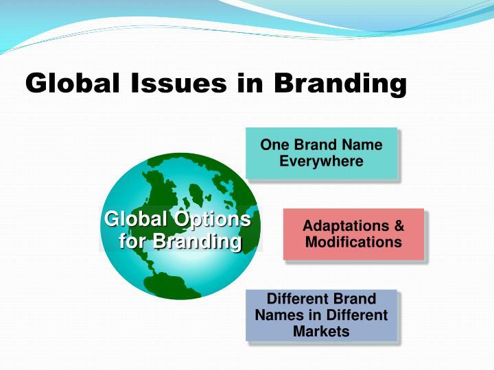 One Brand Name