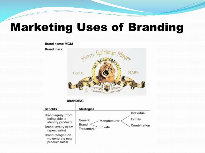 Marketing Uses of Branding