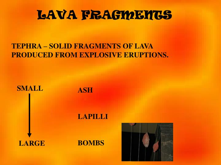 LAVA FRAGMENTS