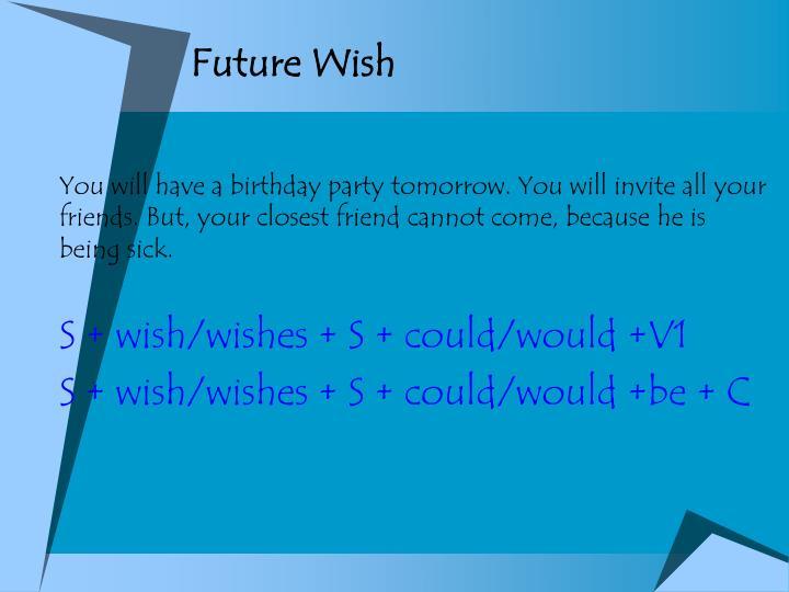 Future Wish