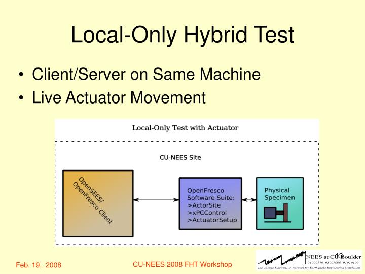 Local-Only Hybrid Test