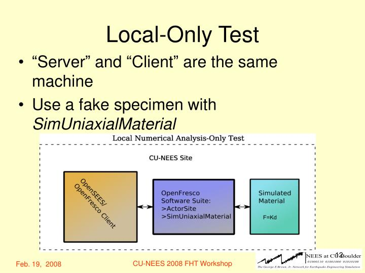 Local-Only Test