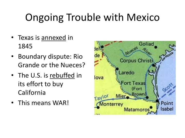 Ongoing Trouble with Mexico