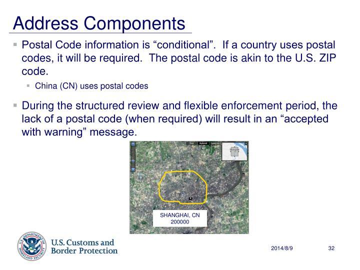 Address Components
