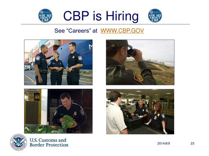 CBP is Hiring