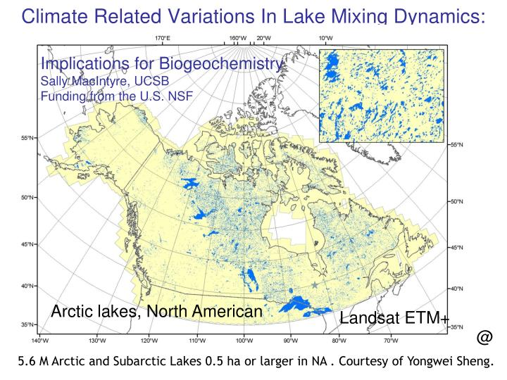 Climate related variations in lake mixing dynamics