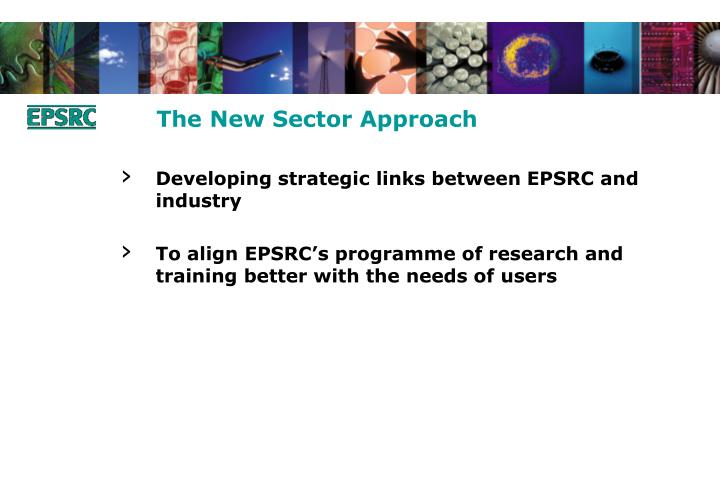 The New Sector Approach