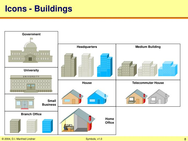 Icons - Buildings