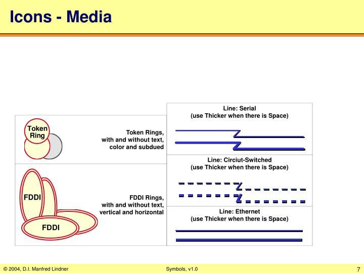 Icons - Media