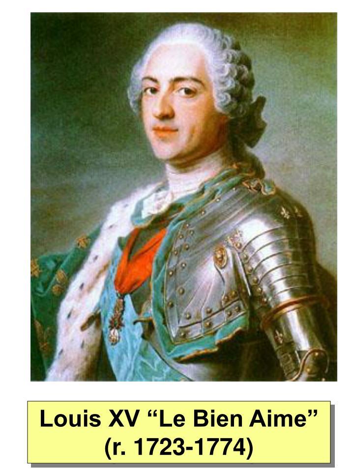 """Louis XV """"Le Bien Aime"""" (r. 1723-1774)"""