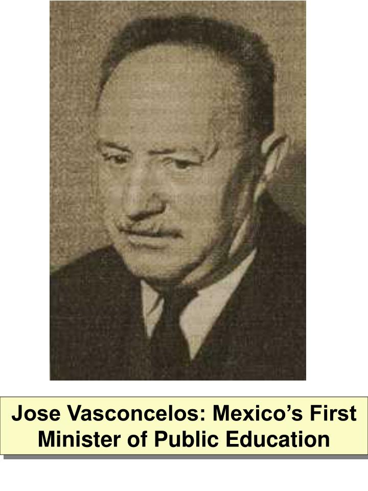 Jose Vasconcelos: Mexico's First Minister of Public Education
