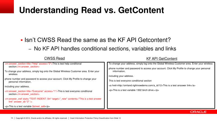 Understanding Read vs.